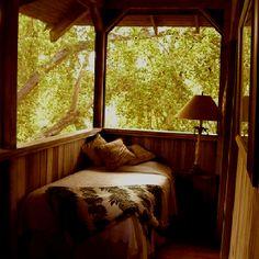 One Summer, Nook, Porch, Calm, Sleep, Windows, Bed, Furniture, Home Decor