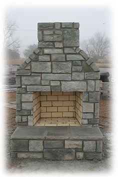 Tulsa Stone and Brick Works   Outdoor Fireplaces   Outdoor Kitchens   Linnaeus Garden Outdoor Fireplace & Kitchens   BBQ Hardware