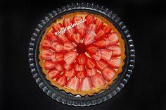 Crostata con Crema Pasticcera e Fragole! Clicca qui per la videoricetta: http://youtu.be/wd83cPS2LXg