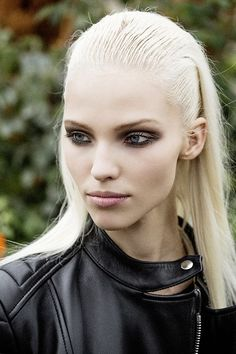 Sasha Luss and those smokey eyes.