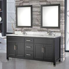 MTD Vanities Ricca 84 in. Double Sink Bathroom Vanity Set - MTD-6284E