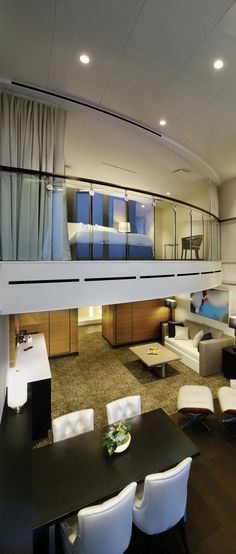 Enjoy the suite life in the Quantum of the Seas Owner's Loft.