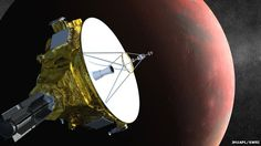 New Horizons is set to fly by the Pluto system in July 2015  Continue reading the main story  Related Stories    New Pluto moon spied by Hubble  Dynamic Pluto revealed in images  'Non-planet' Pluto gets new class  Newly discovered moons around Pluto may pose a hazard to Nasa's New Horizons spacecraft, which is en route to the dwarf planet, according to scientists.