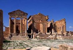''Sabeitla'' The city is located right in the middle of the country Tunisia which is about 107 km from Kairouan. Sebeitla known as Byzantium Roman cultural center on the African continent. Roman relics such as the Capitoline temple became the center of attention of tourists who visit this city.