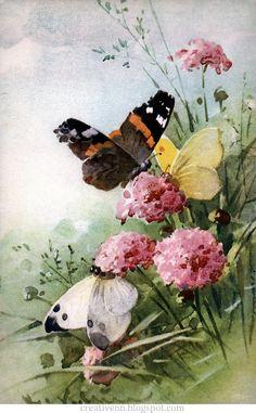 С удовольствием продолжаю рубрику на тему творч ества замечательной художницы Catherine Klein. На этот раз я собрала старинные...