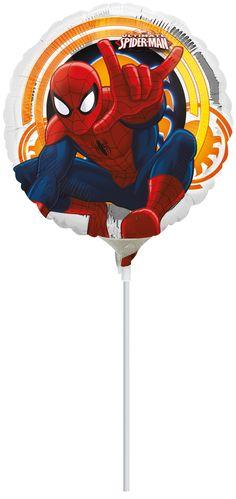 Pallone di alluminio Spider-Man™ 23 cm su VegaooParty, negozio di articoli per feste. Scopri il maggior catalogo di addobbi e decorazioni per feste del web, sempre al miglior prezzo!
