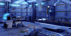UDK Sci-Fi Environment by Sickbert on DeviantArt Spaceship Interior, Spaceship Design, Sci Fi Environment, Environment Design, Futuristic Technology, Futuristic Design, Starship Concept, Sci Fi Novels, Sci Fi Art