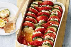 Auflauf von Zucchini, Tomaten und Feta, ein leckeres Rezept aus der Kategorie Gemüse. Bewertungen: 94. Durchschnitt: Ø 4,5.