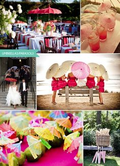 Wedding Umbrellas and Wedding Parasols