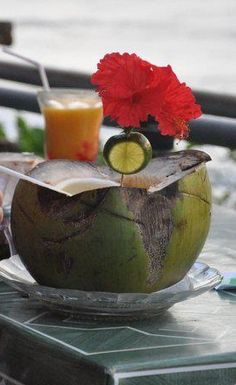 Balinese Coconut water