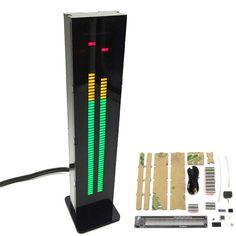 DIY AS60 Dual Channel 60 Segment Binaural Music Spectrum VU Meter Kit