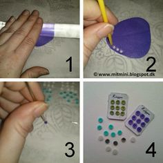 how to: miniature buttons