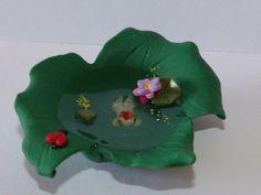 Whimsical terrarium garden fairy fish pond handmade for fairy garden Miniature by mackenziemini on Etsy https://www.etsy.com/listing/229392411/whimsical-terrarium-garden-fairy-fish