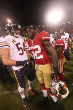 Brian Urlacher and Patrick Willis