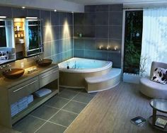 A huge jacuzzi bathtub is something I'd happily spend money on.