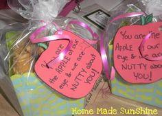 An Apple...Muffin...for the Teacher -- Teacher Appreciation Week