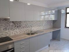 SENHOR FAZ TUDO - Faz tudo pelo seu lar !®: Remodelação da cozinha do apartamento na Póvoa