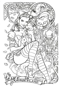 Alice in Wonderland Lines by AllPat.deviantart.com on @DeviantArt