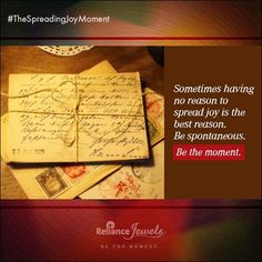 "‪#‎TheSpreadingJoyMoment‬ One day…one, wonderful day. I was walking in a store and came across this envelope in an unlikely spot. The envelope had writing on it. I picked it up and began to read. ""For You. Yes, you!"" Turning the envelope over it said, ""If you found this letter, it is intended for you to open it, read it, and keep the joy carry on."" Having previously been having a trying day, there was a new sense of excitement filling my insides with hope and joy. Opening the letter, I saw…"