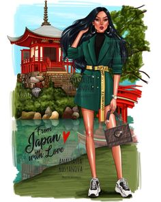 """My Pocahontas 💚(swipe) From Japan 🇯🇵 with Love❤️ """"travel collection"""" 😌This is a collection of travel and it is not related to the real… Punk Disney Princesses, Disney Pocahontas, Disney Princess Drawings, Disney Princess Art, Disney Princess Pictures, Disney Fan Art, Disney Pictures, Disney Drawings, Disney Pixar"""