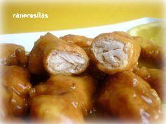 Pollo al limón (Estilo chino) - Recetariocanecositas.com