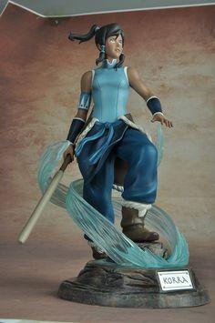 Crunchyroll - Korra Non-Scale PVC Statue - The Legend of Korra