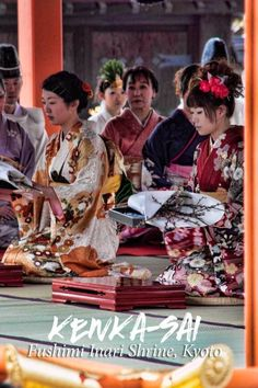 Festivals in Japan will really add to your travel experience.  This is the Kenka-sai ceremony at Fushimi Inari Shrine in Kyoto.: