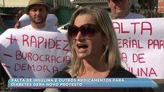 #Falta de insulina e outros medicamentos para diabetes gera novo protesto - RIC Mais Santa Catarina: RIC Mais Santa Catarina Falta de…