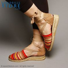 espadrilles   Supernatural Style Cute Sandals, Cute Shoes, Me Too Shoes, Shoes Sandals, Espadrilles, Espadrille Shoes, Sock Shoes, Shoe Boots, Moda Casual