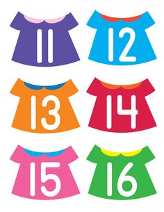 Put the Numbers on the Clothesline - Gift of Curiosity Montessori Math, Preschool Math, Preschool Worksheets, Kindergarten Math, Maths, Father's Day Activities, Counting Activities, Teaching Numbers, Math Numbers