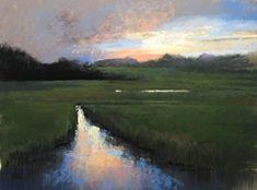 Shem Creek No. 2 by Bethany Fields Pastel ~ 12 x 16