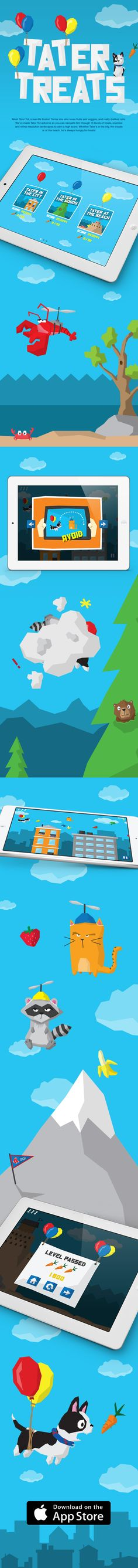 Tater Treats : iOS Game Design on Behance