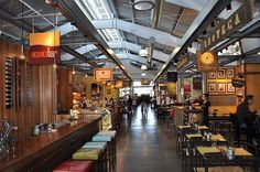 Inside the Oxbow Public Market - a short walk from River Terrace Inn.
