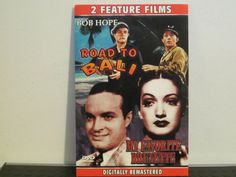 Road to Bali, My Favorite Brunette, DVD, comedy double feature, Bob Hope, Crosby