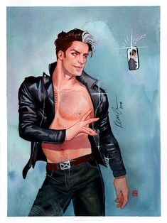 kevin wada illustration: Nate GreyFlame Con 2018 commission