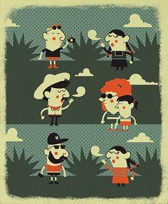 Horacio R Quiroz Illustration