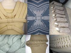 Stine Ladefoged- graduate 2009- Danish Design School Knitwear Fashion, Danish Design, School Design, Chrome, Textiles, Knitting, Tricot, Cast On Knitting, Stricken