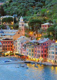 Portofino, Italy.  Remember to like WorkPlace Network at www.facebook.com/workplacenet.