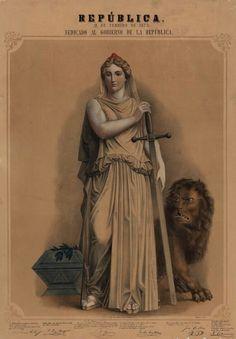 Cartel dedicado al Gobierno de la República 1873 Game Of Thrones Characters, Statue, Fictional Characters, Vintage Posters, Historia, Fantasy Characters, Sculptures, Sculpture