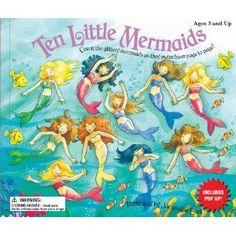 Ten Little Mermaids (Ten Little Counting Books) (Board book)  http://234.powertooldragon.com/redirector.php?p=0769660630  0769660630