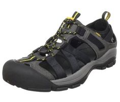 Keen Owyhee in Black/Yellow #keen #mensshoes #keenOwyhee