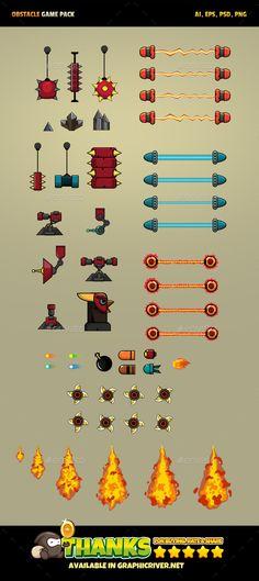19 Obstacles Game Download here: https://graphicriver.net/item/19-obstacles-game/18805431?ref=KlitVogli