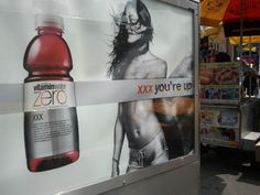 """Ok, why does this woman need to be topless for a Vitamin Water ad? #notbuyingit"" via @catdelbuono on Twitter"