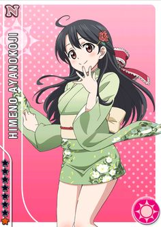 Club Member No : 128 |Grade : Second Year |Birthday : April 17| Blood Type : Type A |Height : 158 cm| CV : ???| Hobby : Camera