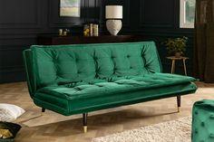 Luxusná rozkladacia sedačka smaragdovo zelená. Elegant, My House, Lounge, Interior Design, Furniture, Home Decor, Products, Environment, Chair