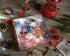 """Купить Книга-шкатулка """"Магазин игрушек"""" в интернет магазине на Ярмарке Мастеров"""