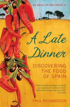A Late Dinner: Discovering the food of Spain. Rick Stein' s forerunner takes us on a journey past the cliches of paella and gazpacho to tell the real story of Spain's mouth-watering food, from the typical coastal cuisine to the shepherd cooking of the interior and the chic 'urban' food of Madrid and Barcelona. Along the way, the author also gets caught up in a fish auction and the annual pig slaughter.