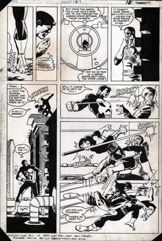 Daredevil #183 pg.18 by Frank Miller and Klaus Janson.  This story was originally intended to be in issues 167-168, but it was not approved by the Comics Code Authority.  It ended up being published in 183-184.