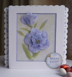 Easter Gift Box Card By Sheila Weaver