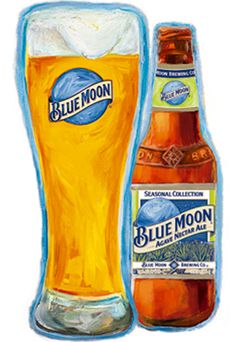 Agave Nectar Ale from Blue Moon (which is Coors) is a 14 IBU 5.6 ABV American pale wheat.  For being a Coors product it's not too bad, nothing outright objectionable here.  Appearance and nose are pretty typical to form, as is the taste, which is smooth and mild.  The agave gives a sweetness but it's not overpowering, though you may get tired of it after a few.  The Mittelfruh hop is a floral hop and probably an apt choice.  It's perfectly serviceable overall.